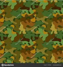 Vector Camouflage Naadloze Patroon Voor Behang Achtergronden