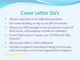 Top Result Cover Letter When You Know The Hiring Manager Awesome