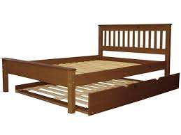 Full Bed Expresso With Full Trundle Free Shipping