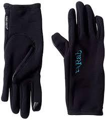 Rab Glove Size Chart Rab Power Stretch Contact Gloves Women Black 2019 Sport