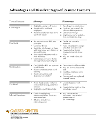 Resume Types 19 Formats