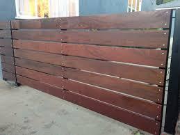 white horizontal wood fence. Horizontal-wood-fencing-09.jpg White Horizontal Wood Fence I
