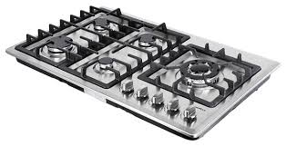 modern gas stove top. 34 stainless steel 5 burner stove ng lpg gas cooktops heavy frame kitchen cooker modern- modern top y