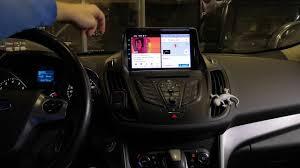 <b>Штатная магнитола</b> Ford Kuga <b>2</b> 2013+ - YouTube