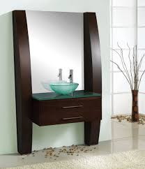 Bathroom: 24 Inch White Small Bathroom Vanity Set By Virtu Usa ...