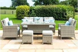 full size of round rattan garden table and 8 chairs 6 uk teak with set furniture