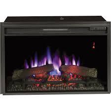 chimney free spectrafire plus electric fireplace insert 4 600 btu 26in model