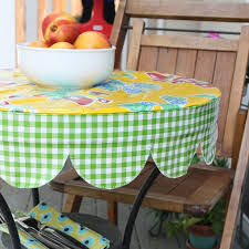 tablecloths outdoor tablecloth round round outdoor tablecloth with umbrella hole green mix white color with