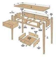 shaker hall table. Woodworking Project Plans From The Editors Of Woodsmith Magazine. Shaker Hall Table