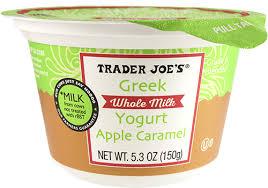 apple caramel whole milk greek yogurt