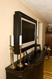 Secondary Customer Gallery. framed tv mirror