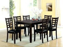 round espresso dining table espresso round dining table espresso dining table and chairs acme 7 espresso
