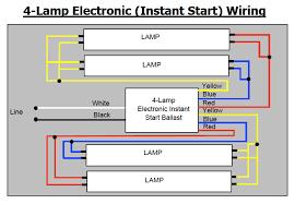 4 tube ballast wiring wiring diagram
