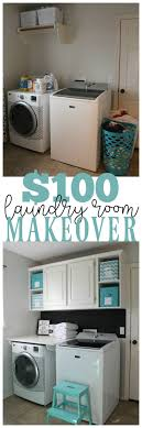 Simple Laundry Room Makeovers Best 25 Laundry Room Makeovers Ideas On Pinterest Small Laundry