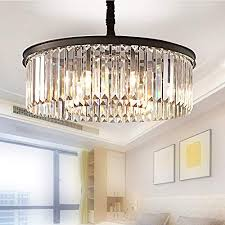 Pendant lighting for high ceilings Tall Ceiling Meelighting Crystal Chandeliers Modern Contemporary Ceiling Lights Fixtures Pendant Lighting Dining Room Living Room Chandelier D21 Acimgroupinfo Living Room Chandelier Lighting For High Ceiling Amazoncom