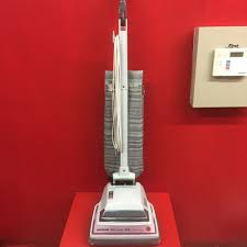 Vacuum With Light Vintage Hoover Decade 80 Mint Grey Upright Vacuum Cleaner
