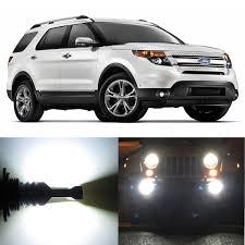 2016 Ford Explorer Led Fog Lights Amazon Com Alla Lighting 2pcs Super Bright 9145 White Led