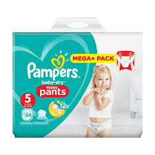 Pampers Baby Dry Nappy Pants Size 5 84 Mega Pack Costco Uk
