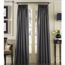 marquee flared faux silk pinch pleat curtain panels from 7 patio door curtains pinch pleat