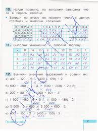 ГДЗ Тетрадь по математике класс Истомина часть  4стр 5стр