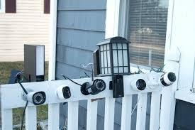 Exterior Cameras Home Security Design