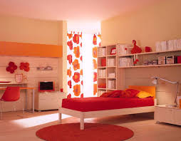 bedroom ideas for teenage girls red. 46 Most Great Charming Modern Bedroom Classy Image Of Teenage Girl Red Decoration Using Heart Curtain Including Round Rug Ideas For Girls