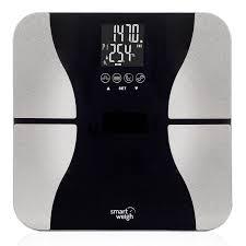 smart weigh digital bmi fat bathroom scale