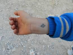для гонимых христиан татуировка с изображением креста стала символом