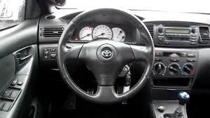 2004 Toyota Corolla S, white - Stock# L305651 - Interior - YouTube