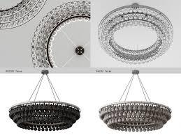 arctic pear chandelier round 120 3d model max obj 3ds fbx skp mtl 2