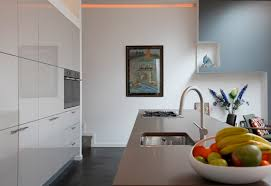 ... Incredible Accent Wall Colors For Your Interior Design Ideas : Casual  Kitchen Decoration Using Two Tone ...