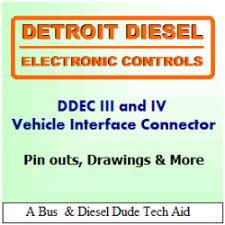 detroit diesel ddec iii and iv ecm vehicle and engine connectors  at Detroit 60 Ser Ddec3 Ecm Wiring Diagram