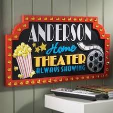 Small Picture NEW Home Theater Movie Decorative Wall Plaque Popcorn Matinee