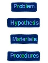 Science Project Labels Printable Science Fair Project Display Board Labels Jada Pinterest