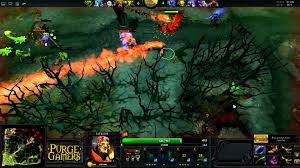 dota 2 purge owns with batrider youtube