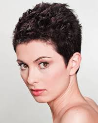 Very Short Curly Pixie Hairstyles