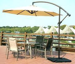 offset patio umbrellas with solar lights umbrella lovely enclosures on 11 ft offset patio umbrella l55