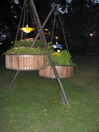 unique outdoor lighting ideas. Wonderful Outdoor Ideas With Unique Hanging Lamps Also Wooden Custom Plants Storage At Patio Garden Lighting S