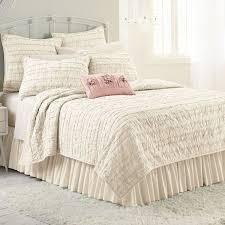 Bed Linen: extraordinary beige ruffle comforter Ruffle Edge Duvet ... & ... Beige Ruffle Comforter Ruffle Bedding Shabby Chic Ruffle Quilt Ruffle  Bedding: extraordinary Adamdwight.com