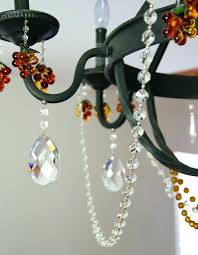 crystal magnets for chandeliers decorating with magnetic garland transform a bland wrought chandelier into a crystal crystal magnets for chandeliers