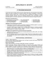 Glamorous Resume Examples 2017 It Professional Resume Examples