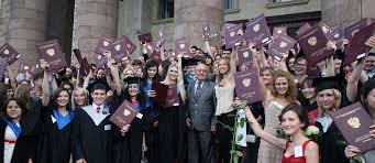 Вручение красных дипломов