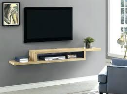 wall mounted tv shelf home