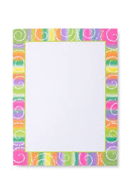 Fiesta Border Stationery Paper 100 Count