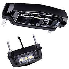 Mini LED SMD Kennzeichen Beleuchtung Kennzeichenleuchte Motorrad  Nummernschild Beleuchtung Roller Quad PKW Anhänger K6