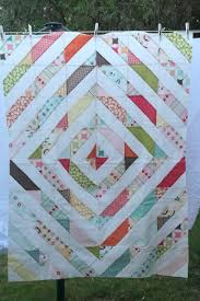 14 best TUBE QUILTING images on Pinterest | Quilt patterns ... & Tube quilt variation - 4 strips. England Street Quilts: WIP - Riley Blake  Jelly Adamdwight.com