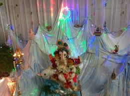 ganpati decoration ideas at home pooja room decoration ganesh