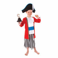 captain pirate boys fancy dress story book character