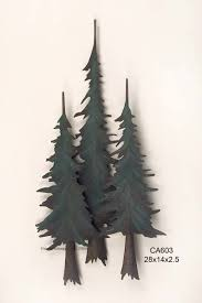 pine tree forest metal wall art image 1 on pine tree forest metal wall art with pine tree forest metal wall art