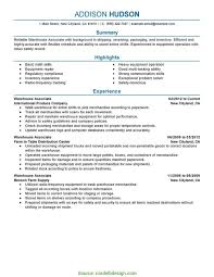 Shift Incharge Resume Sample Typical Resume Format For Warehouse Incharge Warehouse Sample Resume 11